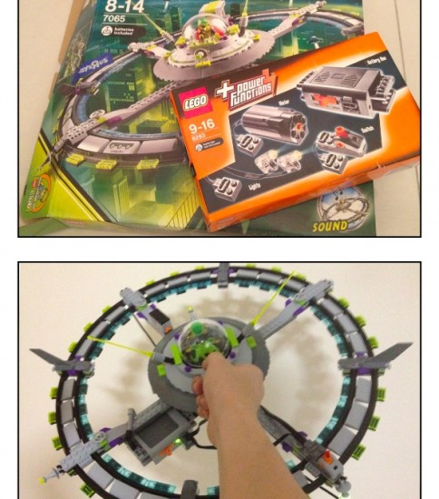 LEGO UFO(7065) + Power Function(8293)